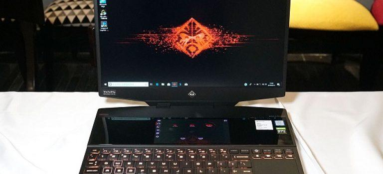 لپتاپ گیمینگ جدید HP با دو نمایشگر معرفی شد